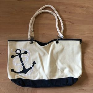 Thirty-One Canvas Crew Tote